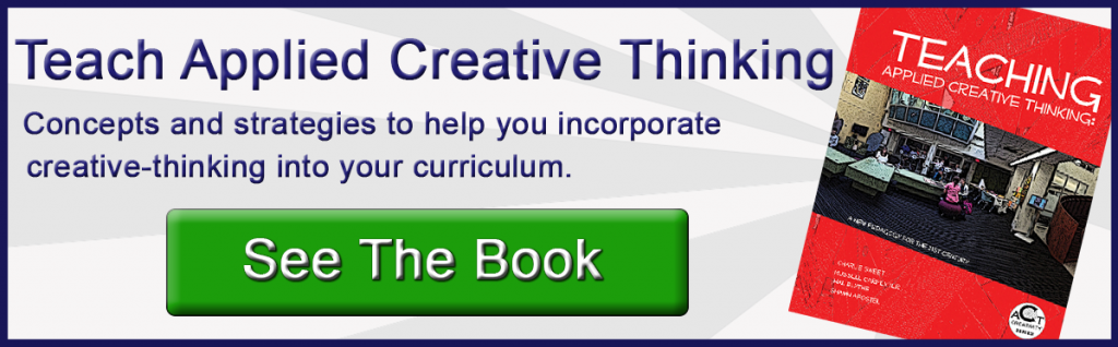 teaching applied creative thinking book