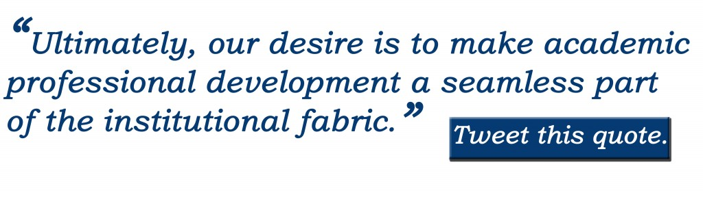 faculty excellence quote